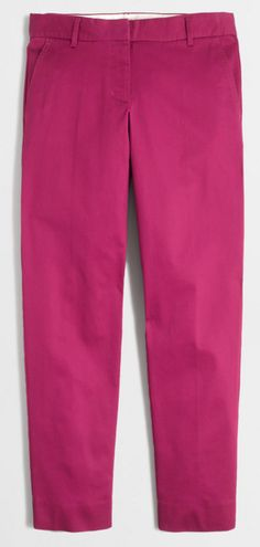 Cute skimmer pant in pink