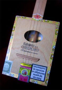 CigarBox Ukulele #Box, #Music