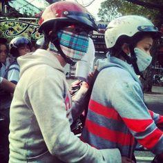 De moto, ninjas no transito, ho chi minh / vietnam - Vietnã Hoje