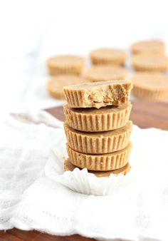 Honey Almond Fudge Cups that are no cook with just 5 ingredients! They're Paleo with a vegan option, gluten free, grain free, dairy free.