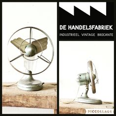 Wonderful industrial ventilation from the 40 50. This must have! Shop @ De Handelsfabriek