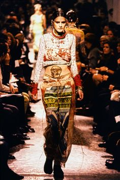 Stella Tennant, Jean Paul Gaultier Spring 1994 Ready-to-Wear Collection Photos - Vogue