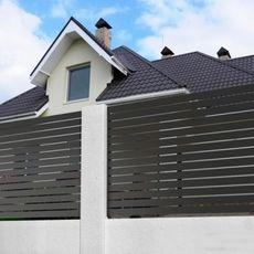 Profilos kerítés 80*20 mm