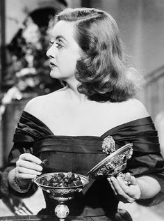 Bette Davis in All About Eve, 1950. I think this is probably one of my favorites!