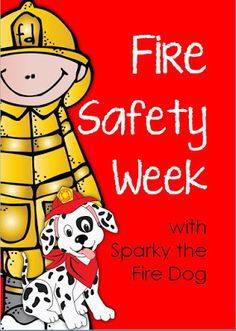sparky the fire dog craft. fire safety week with sparky the dog - printables for grades 1-2 craft