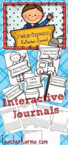 The Polar Express activities, lessons, games, and FUN for your classroom.  TeacherKarma.com