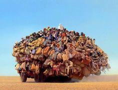 Public transport in Africa.