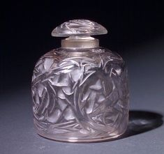 R. LALIQUE Perfume bottle, Epines Flacon No. 4