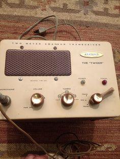 Vintage Motorola Base Station Model T1207A With TMN6017A