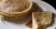 Βασική συνταγή για πεντανόστιμες κρέπες        θα χρειαστούμε για 35-40 κρέπες τα εξής:   1200 γρ φρέσκο γάλα   3 αυγά   2 ποτήρια νερό  ... Sweet Recipes, Cooking, Breakfast, Milk, Food, Water, Dinners, Kitchen, Morning Coffee