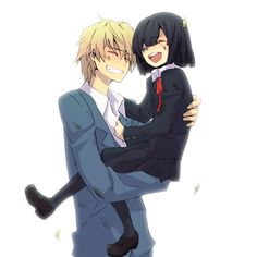Durarara! Shizuo with Akane. My Story: Shizuo is married with Taiga Aisaka and…