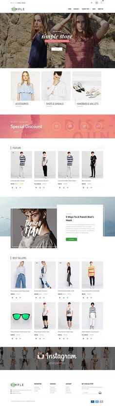 Simple Store Shopify Theme – a clean and elegant design is really ideal for you to build up when you want to look for a beautiful theme for your business. It is perfect for any kinds of stores like Fashion, Clothing, Accessories, Handbags & Wallets, Shoes & Sandals, Jewelries & Watches, etc. Our team spent much more time and enthusiasm on this theme, surely all the quality checks are done properly. http://junothemes.com/theme/simple-shopify-theme/