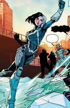Superhero Suits, Superhero Characters, Superhero Design, Fantasy Characters, Female Superhero, Marvel Women, Marvel Girls, Marvel Art, Marvel Dc Comics