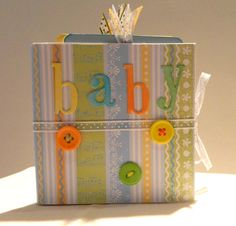 Baby Boy Mini Album. $7.50, via Etsy.