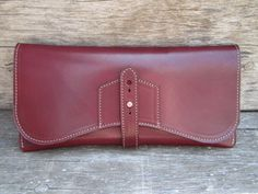 hand clutch leather works of mn