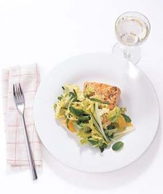 Glazed Salmon With Mint and Cucumber Slaw  	  	  	  12  	  	  	  	  17  	  	  	  	  	  	  0        Email      Print      Save