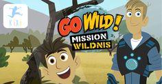 Go Wild! – Mission Wildnis – Hörspielserie bei Kixi – Kinderkino