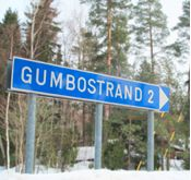 You'll find us just 30 minutes from downtown Helsinki. Once you see this sign, you know you're close!
