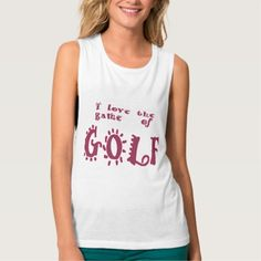 love the game of GOLF Tank Top