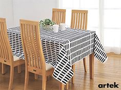 A bold graphic design available in three contrasting color combinations. Artek Siena Cotton Fabric