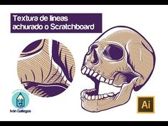 Tutorial textura de grabado o Scratchboard con illustrator cc - YouTube