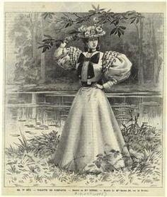 Toilette de campagne. (1895)