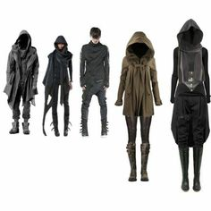 futuristic clothing reference