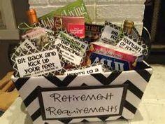 … retirement gift basket ideas retirement gifts for mom retirement gifts - 10 Retirement Gifts For Mom, Teacher Retirement Parties, Retirement Celebration, Retirement Cards, Retirement Ideas, Retirement Survival Kit, Retirement Party Themes, Retirement Decorations, Military Retirement