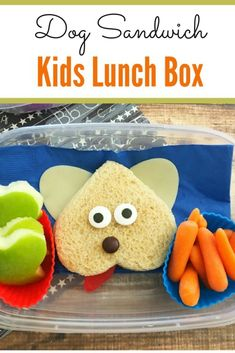 Check out this fun kid lunch idea! Your child will love it when they open their lunch box and see this! Kid lunch | Bento Box Ideas