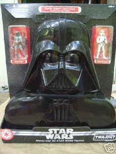 Star Wars Darth Vader Carry Case w Boba Fett  Stormtrooper ** More info could be found at the image url.Note:It is affiliate link to Amazon.