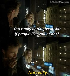 Birdman (2014)  Edward Norton _ Emma Stone  Check us out on facebook at  https://www.facebook.com/TheBestMovieLines for the best movie quotes!