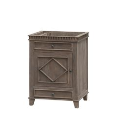 "Lancaster 26"" No Top Bathroom Vanity  Available without a top so that you can create your own custom piece. The Lancaster vanity measures 26 inches wide, 22 inches deep, and 34.5 inches tall.  #home #decor #sink #vanity #customize #newhomes #remodel #newconstruction #bathroom #vanity #vanities #LookForLandK #LandKdesigns"