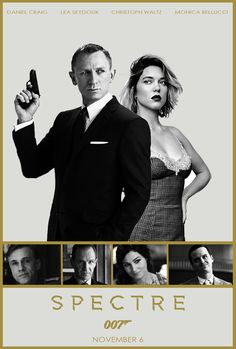 So looking forward to the next bond film. Daniel Craig is up there with Sean as… James Bond Movie Posters, James Bond Movies, Bond Girls, Daniel Craig, I Movie, Movie Stars, Movie Theater, Service Secret, George Lazenby
