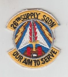USAF Air Force Patch: 26th Supply Squadron
