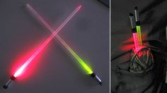 Lightsaber Knitting Needles: An Elegant Tool For a More Civilized Scarf