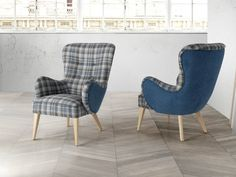 Fauteuil .Mod. AGORA SCOTCH Scotch, Accent Chairs, Armchair, Home Decor, Environment, Wood Finishing, Solid Wood, Contact Form, Fir Tree