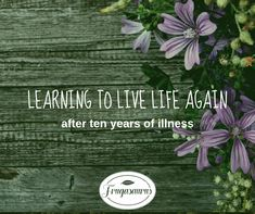Learning to live life again – Frugasaurus Food Experiments, Exciting News, Live Life, Learning, Study, Teaching, Studying, Education
