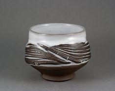 "One of a kind ""Winter Fields"" Yunomi, Tea bowl by Paul Fryman"