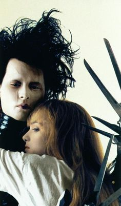 Edward Scissorhands (1990) this film shows how fucked up society is. Thankyou tim