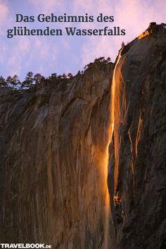 Es ist wieder soweit: Jetzt im Februar zeigt sich in Kalifornien im Yosemite Nationalpark ein spektakuläres Naturphänomen. Aber was steckt dahinter? http://www.travelbook.de/welt/Horsetail-Fall-Das-Geheimnis-des-gluehenden-Wasserfalls-602337.html