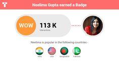 """""""Neelima Gupta"""" #Creative #Art @Touchtalent http://bit.ly/Touchtalent-p"""