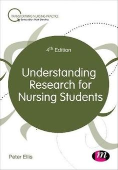 Understanding research for nursing students / Peter Ellis. Nursing Books, Nursing Research, Nursing Students, Case Study, Need To Know, First Time, Language, Learning, Author