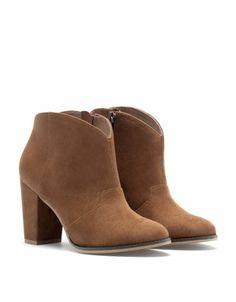 Bershka Slovenia -Bershka ankle boots Slovenia 0ee2b0505