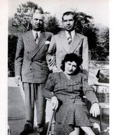 "Frank ""Don Cheech"" Scalise visits Lucky Luciano in Italy, accompanied by his wife. Unfortunately for Frank, he was gunned down in a Bronx fruit store in 1957"