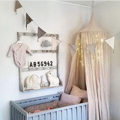 Nursery Inspiration | Numero 74 Canopy Tent & Heico Rabbit nightlight | Talo Interiors