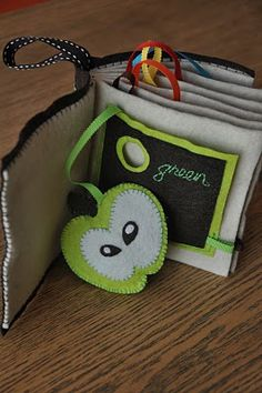 Cute pocketed felt quiet book