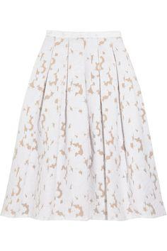 Michael Kors Fil coupé skirt NET-A-PORTER.COM