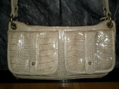 NWOT Simply Vera Wang Faux Snakeskin Handbag. Starting at $20 on Tophatter.com!