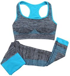 Cheap wear training bra, Buy Quality bra apparel directly from China wear shawl Suppliers: Women Yoga Sets Fitness Seamless Bra+Pants Leggings Set Gym Workout Sports Wear Womens Workout Outfits, Sport Outfits, Gym Outfits, Pantalon Long, Jolie Lingerie, Tracksuit Set, Girl Running, Running Sports, Sports Track