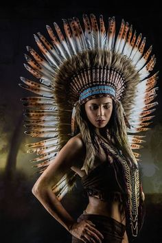 Squaw - Shaman ... by Joachim Bergauer by Model Gina on 500px